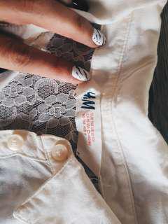 Hnm H&M Lace shirt