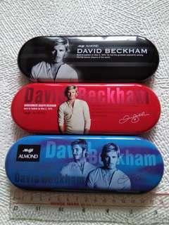 明治Meiji x David Beckham碧咸長方型鐵盒3個