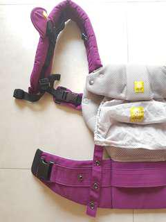 EEUC Lillebaby Complete Airflow Mesh 6-in-1 Carrier (Misty Purple)