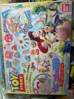 全新原裝正貨 Bandai 迪士尼 toy story 反斗奇兵 手作吊飾 套裝