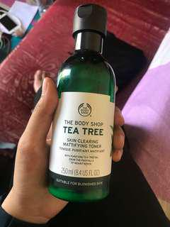 Tea tree toner body shop