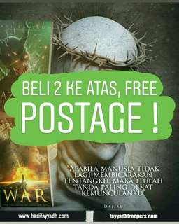 BELI 2 BUAH BUKU KE ATAS FREE POSTAGE !