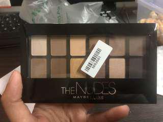 The Nudes Maybelline Eyeshadow