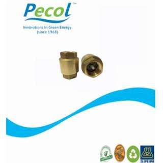 """PECOL NON-RETURN VALVE (1/2"""") FOR WATER HEATER"""