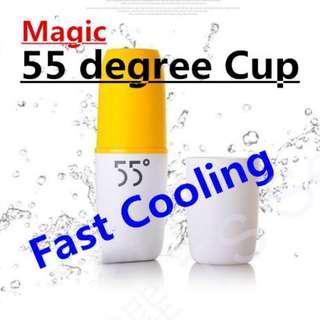 🚚 神奇 降溫神器 55度 快速 降溫杯 304 不銹鋼 雙層 快速降溫 變溫杯 非 保溫瓶 戶外 旅行 旅遊 55 degree cup mugs thermos flasks