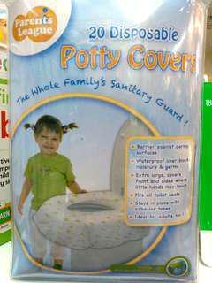Parents League 即棄坐廁墊 Disposable Potty Covers