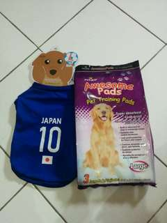 Pet shirt & training pads