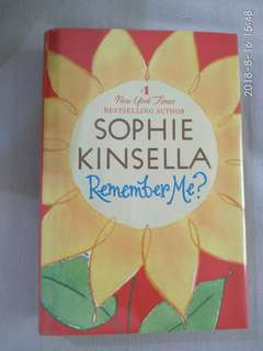 Hardcover Remember Me by Sophie Kinsella