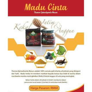 Madu Cinta Turkey wIth Horny Goat Weed