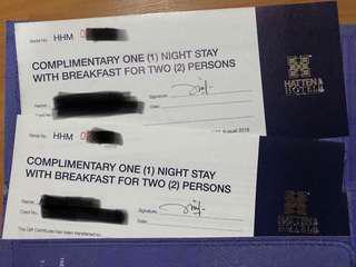 Hatten Melaka hotel voucher