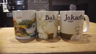 Authentic Starbucks Mug Jakarta, Bali and Kuta