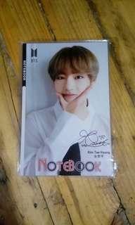 BTS V Notebook
