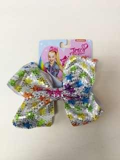 JoJo Siwa sequin stars bow