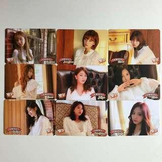 Twice Yes! Card 專輯卡 Part3 白卡 T374-381