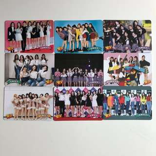 Twice Yes! Card 專輯卡 Part3 白卡 T355-363