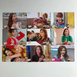 Twice Yes! Card 專輯卡 Part3 白卡 T346-354