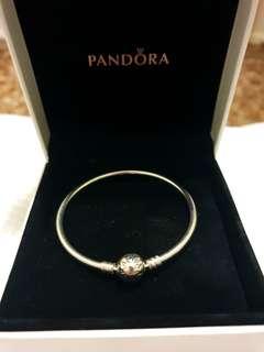 Silver Pandora braclet