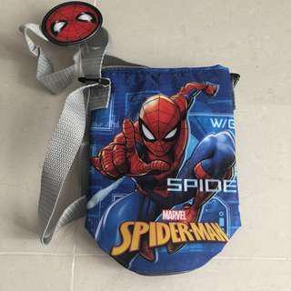 Spider man water bottle holder