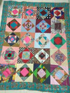 "New Patchwork Blankets 80""x65"""
