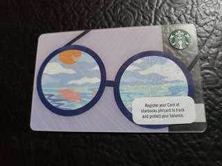 Latest edition Starbucks card