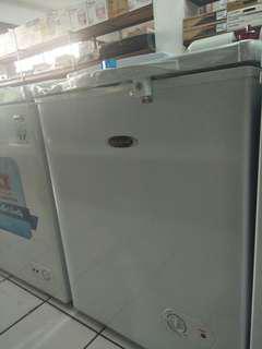 Freezer merk frigigate all ukuran bisa cicil tanpa Dp
