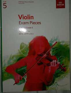 ABRSM Violin Grade 5