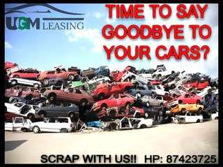 Scrap your car...