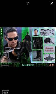 訂單 Hottoys H.T. The Matrix Neo MMS466 22世紀殺人網絡