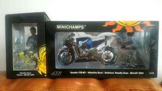 Minichamps Rossi Bike with Figure