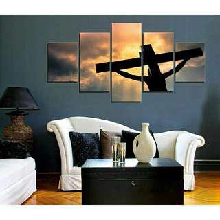 Christian Home Wall Decor Canvas Printing
