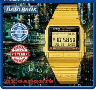 👑👑👑6折全新行貨卡西歐防水数字防水記憶鋼錶-40% Off Brand New Original Casio Water Resistance Digits data bank  Metal Watch