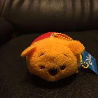 **New** 迪士尼 Winnie the Pooh 小熊維尼 維尼 匙扣 公仔 吊飾 毛公仔 7-11 Tsum Tsum 景品 夾公仔 Disney key chain soft toys