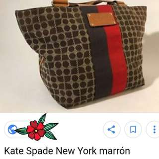Kate spade new york marron tote bag