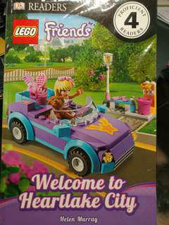 LEGO Book DK Readers Friends Welcome to Heartlake City 樂高正版書 可免費送贈品