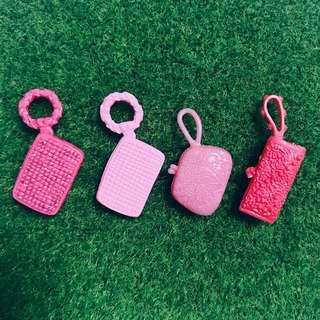 🚚 芭比娃娃時尚達人 粉色手拿包組合|Janet Style