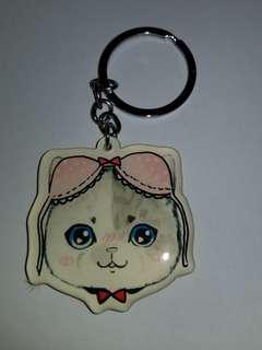 貓咪鎖匙扣