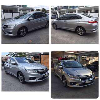 Honda city full spec 2018