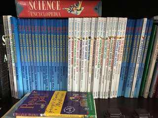 grolier Disney kingfisher science encyclopedia