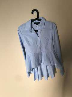 Light Blue stripe Blouse