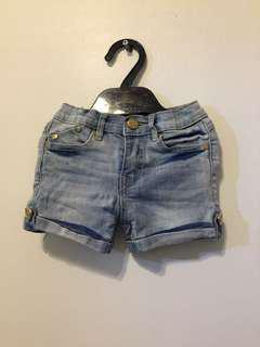 Moose girl denim shorts
