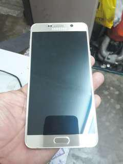 Samsung note 5 .LCD crack (faulty)