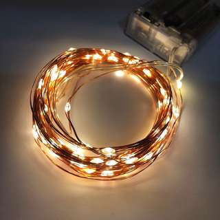 Ready Stock! Fairy Strings Lights Cooper Wire