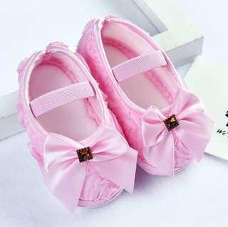 PreWalker Soft Sole Baby Shoes - Pink Princess