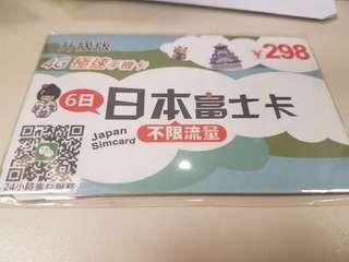 日本升級版4G極速手機卡