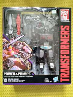 全新Transformers Power of the Primes POTP Nemesis Prime暗黑柯柏文