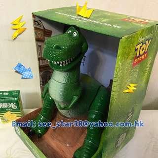 Rex Talking Action Figure 反斗奇兵恐龍發聲玩具  Toy story