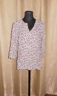 SALE Printed Fashion Blouse
