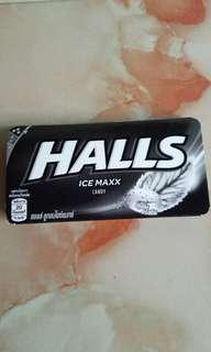 HALLS ICE MAXX CANDY