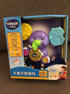 Brand new Vtech baby toy - Elephant music shaker & teether