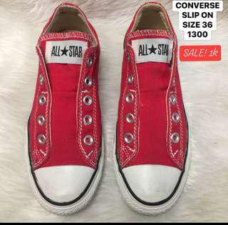 Authentic converse slip on size 36